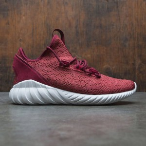 Adidas Men Tubular Doom Sock Primeknit (red / mystery red / collegiate burgundy / crystal white)