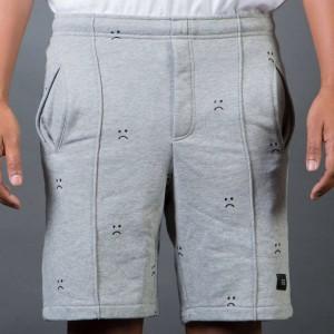 Lazy Oaf Men Sad Gray Shorts (gray)