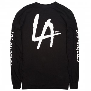 BAIT Men LA Hits Long Sleeve Tee (black)