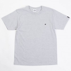Undefeated Men Felt Chest Strike Tee (gray / heather)