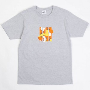 Undefeated Men Camo 5 Strike Tee (gray / heather)