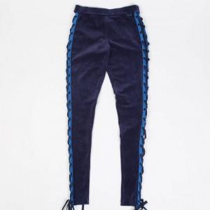 Puma x Fenty By Rihanna Women Velour Lacing Tight (blue)
