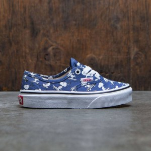 Vans x Peanuts Big Kids Authentic - Snoopy Skating (blue)