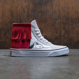 Vans x Peanuts Women SK8-Hi Moc - Dog House (white / bone)