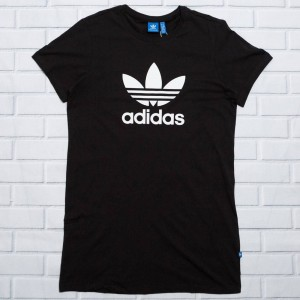 Adidas Women Trefoil Tee Dress (black)