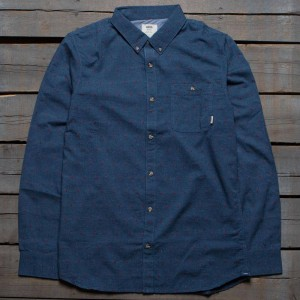 Vans Men Edgewood Woven Shirt (blue)