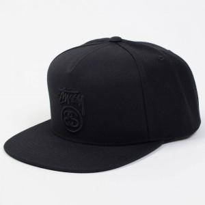 Stussy Stock Lock Fall 2017 Cap (black)