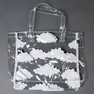 Lazy Oaf Clear Cloud Tote (clear)