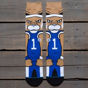 Stance x NCAA Men Scratch Socks (blue)