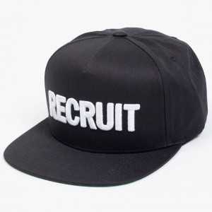 Undefeated Recruit Cap (black)