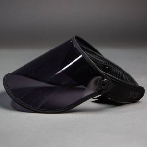 Adidas Y-3 Visor (black / transparent black)