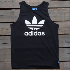 Adidas Women Loose Trefoil Tank Top (black)