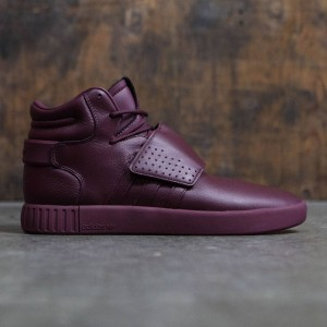 Adidas Men Tubular Invader Strap (burgundy / maroon)