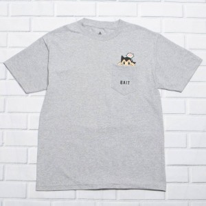 BAIT x  Astro Boy Men Mighty Pocket Tee (gray)