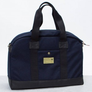 Hex Laptop Duffel Bag (navy / wool)