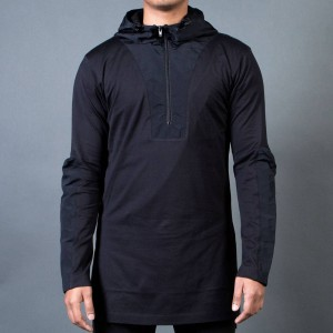Adidas Y-3 Men 3D Hoodie Hooded Sweatshirt (black)