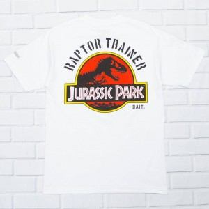 BAIT x Jurassic Park Men Raptor Trainer Tee (white)