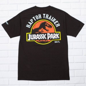 BAIT x Jurassic Park Men Raptor Trainer Tee (black)