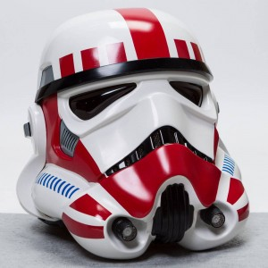 ANOVOS Star Wars EP IV A New Hope Imperial Shock Trooper TK Helmet (red)