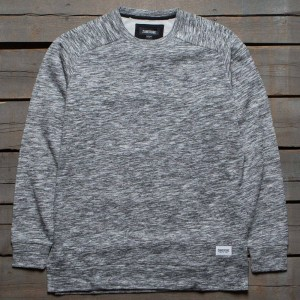 Zanerobe Men Flintlock Crew Sweater (gray / marble)
