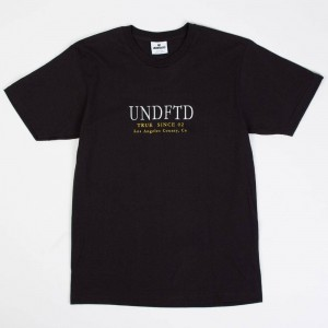 Undefeated Men True Since 02 Tee (black)