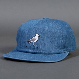 Barney Cools Mate Shallow Bird Cap (blue / denim)