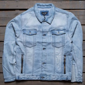 Zanerobe Men Greaser Denim Jacket (blue / denim)