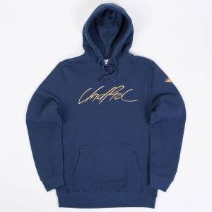 Undefeated Men Fight Pullover Hoody (navy)