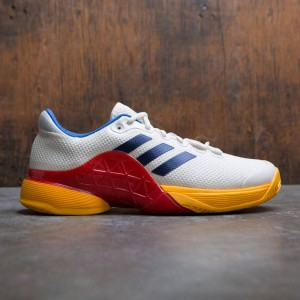 Adidas x Pharrell Williams Men Barricade 2017 (white / chalk white / dark blue / scarlet)