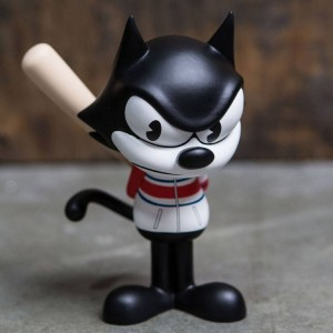 BAIT x Dreamworks x SWITCH Collectibles Felix the Cat Slugger 6 Inch Figure - Hawaii Exclusive (black / white)