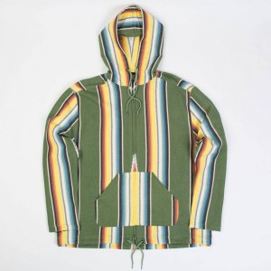 10 Deep Men Better Off Dead Zip Hoody (green)