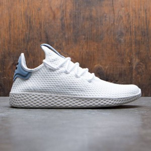 Adidas x Pharrell Williams Men Tennis HU (white / footwear white / tactile blue)