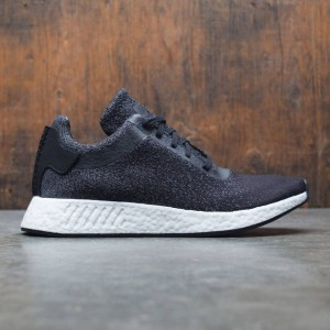 Adidas x Wings + Horns Men NMD R2 Primeknit (black / utility black / grey)