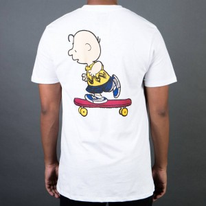 Vans x Peanuts Men Good Grief Pocket Tee (white)