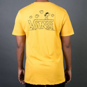 Vans x Peanuts Men Classic Snoopy Tee (yellow)