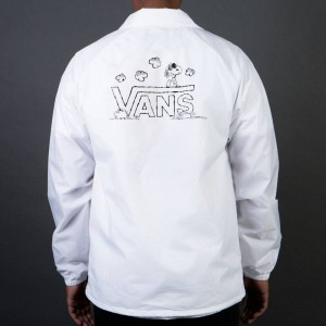 Vans x Peanuts Men Torrey Jacket (white)
