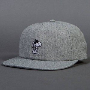 Vans x Peanuts Snoopy Jockey Cap (gray / heather)