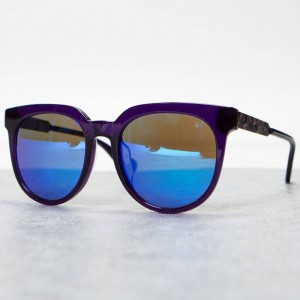 A Bathing Ape BS13048 PR Sunglasses (purple)