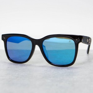 A Bathing Ape PARKAS04 BU Sunglasses (blue)