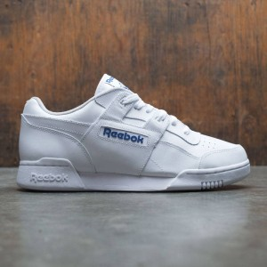 Reebok Men Workout Plus (white / royal)