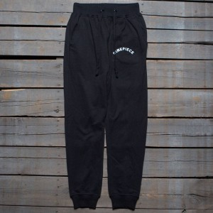 Dimepiece Women Old English Jogger Sweat Pants (black)