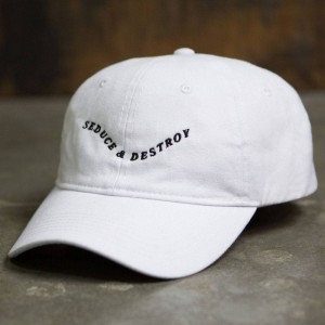 Dimepiece Seduce And Destroy Cap (white)