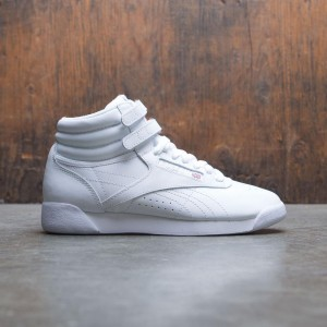 Reebok Women Freestyle Hi (white / silver)