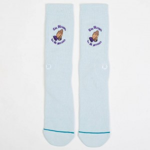 Stance Men No Stress Socks (blue)