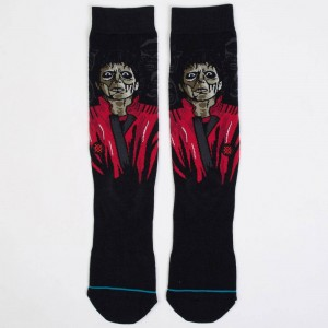 Stance Men Michael Jackson Thriller Socks (black)