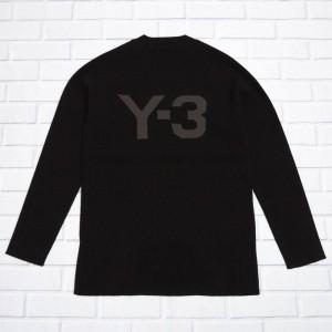 Adidas Y-3 Universal Felt Pullover Sweater (black)