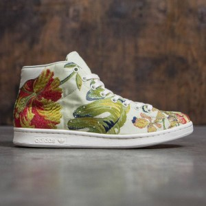 Adidas x Pharrell Williams Men Jacquard Stan Smith Mid (white / cream jacquard / cream white)