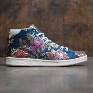 Adidas x Pharrell Williams Men Jacquard Stan Smith Mid (navy / navy jacquard / chalk white)
