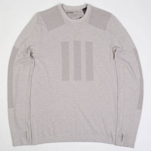 Adidas Day One Men Base Layer Merino Tee (gray / clear granite)