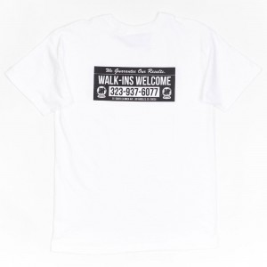 Undefeated Men Guaranteed Results Tee (white)